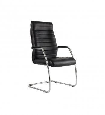 Manhattan Leather Conference Chair