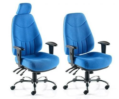 Mercury 'Fabric' 24 Hour Task Chairs