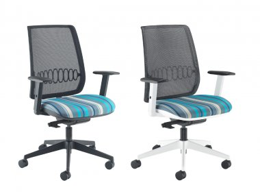 Orchid Mesh Back Operator Chair