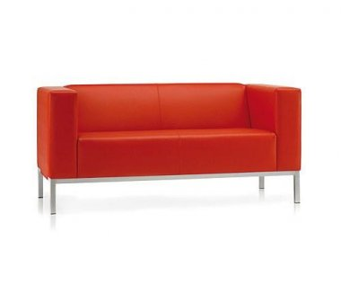 Pledge Faux Leather Sofa Collection