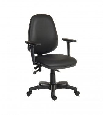 Practica Faux Leather Operator Chair