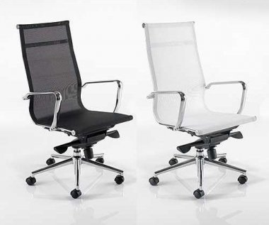 Seville High Back Mesh Seat & Back Executive Chair