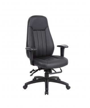 Tetra 24 Hour Faux Leather Task Executive Chair