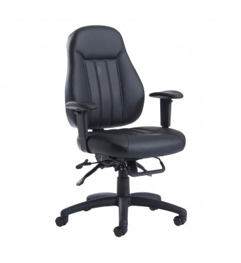 Tetra Faux Leather Operator Chair