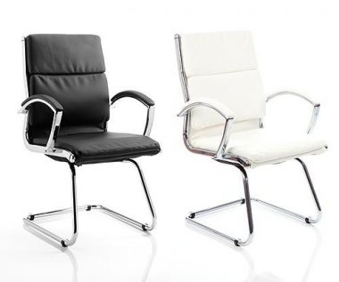 Turin Bonded Leather Conference Chair