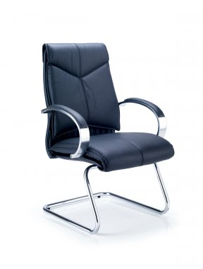 Valentino Leather Faced Conference Chair