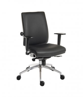 Vogue Faux Leather Operator Chair