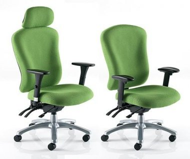 Zircon 'Fabric' 24 Hour Task Chairs
