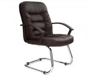 Trapeze Leather Faced Conference Chair