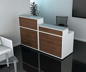 Coral Reception Desk
