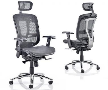 Mirage Mesh Seat & Back Executive Chair