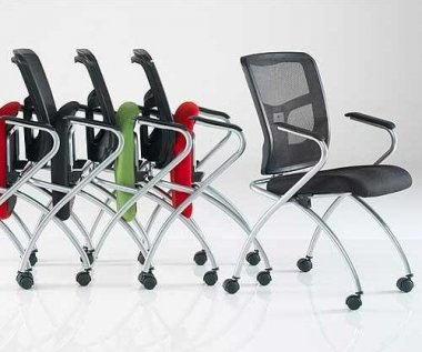 Flipper Mesh Back Meeting Room Chair