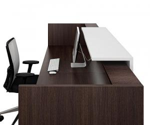 Guest Reception Desks - back view