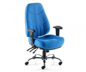 Mercury 24 Hour Executive Fabric Task Chair - 'without' Headrest