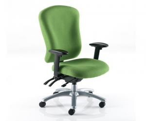 Zircon 24 Hour Fabric Executive Chair - lowback