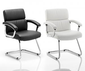 Union Bonded Leather Conference Chair