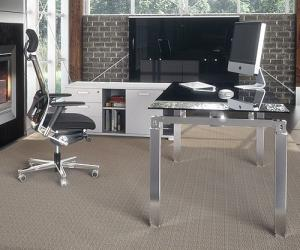 Black Opal Glass Desk
