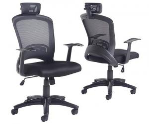 Libra Mesh Back Operator Chair with Headrest