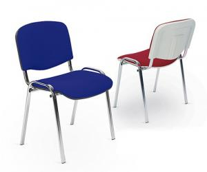 ISO 'White Back' Multi-Purpose Stacking Chair