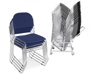Vesta Meeting Room Chair - trolly