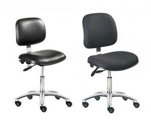 ESD Static Safe Fabric Chair & ESD Static Safe & Sterile Vinyl Chair