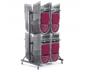 High Hanging 2 Row Chair Trolley