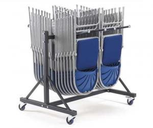 Low Hanging 2 Row Chair Trolley