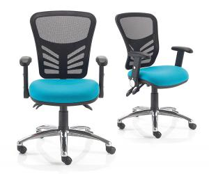 Sketch Mesh Back Operator Chair