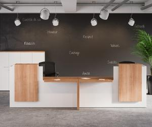 King Reception Desk