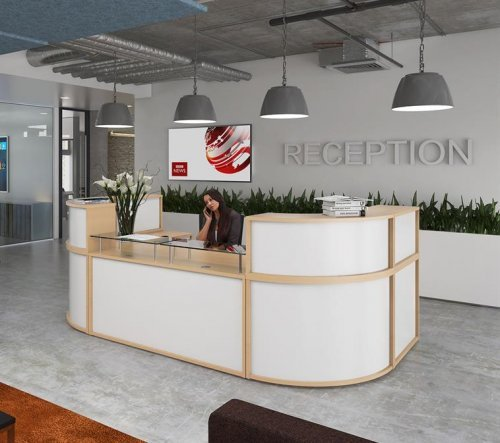 Denver Full Reception Desk