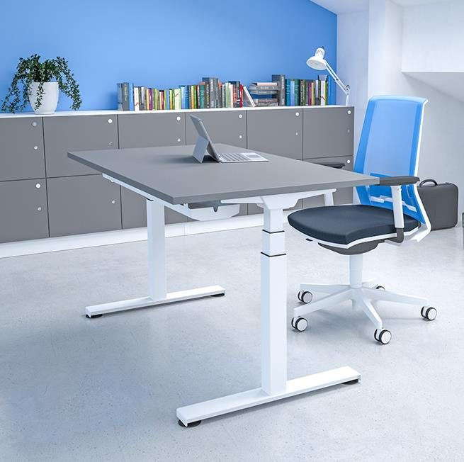 Freedom Electric Height Adjustable Single Desk
