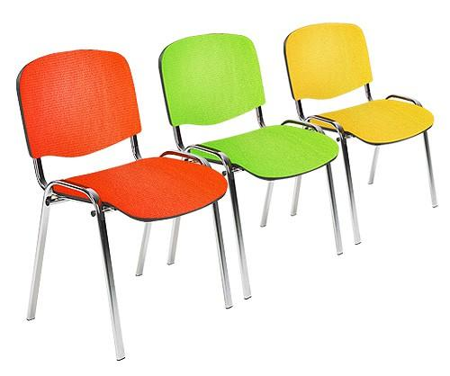 ISO 'Multi-Colour Fabric' Stacking Chair
